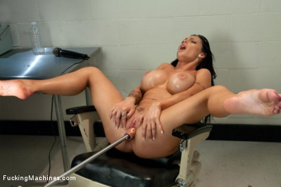Photo number 2 from A Squirting, Cumming Mess of HOT <br> Machine Fucking Jenna Presley shot for Fucking Machines on Kink.com. Featuring Jenna Presley in hardcore BDSM & Fetish porn.