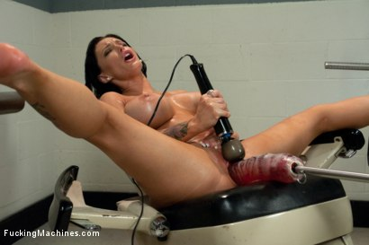 Photo number 15 from Squirting The Distance <br> Jenna Presley's Pussy Power shot for Fucking Machines on Kink.com. Featuring Jenna Presley in hardcore BDSM & Fetish porn.