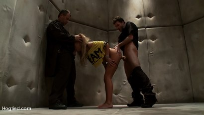 "Photo number 15 from ""Cemetery Heights"": A Hogtied Feature Movie<br>A fantasy BDSM abduction movie starring Jaelyn Fox shot for Hogtied on Kink.com. Featuring James Deen and Jaelyn Fox in hardcore BDSM & Fetish porn."