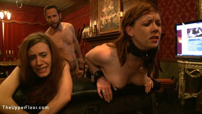 Photo number 17 from Service Day: Sexual Training shot for The Upper Floor on Kink.com. Featuring Iona Grace, Sparky Sin Claire, Lilla Katt, Nicki Blue and Maestro in hardcore BDSM & Fetish porn.