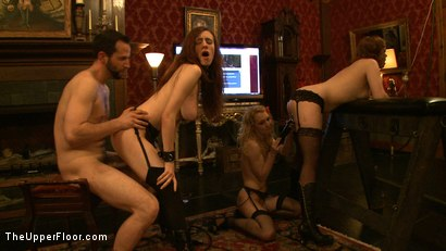 Photo number 6 from Service Day: Sexual Training shot for The Upper Floor on Kink.com. Featuring Iona Grace, Sparky Sin Claire, Lilla Katt, Nicki Blue and Maestro in hardcore BDSM & Fetish porn.