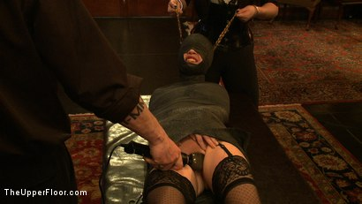 Photo number 9 from Service Day shot for The Upper Floor on Kink.com. Featuring Lilla Katt, Nicki Blue and Sophie Monroe in hardcore BDSM & Fetish porn.