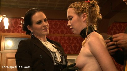 Photo number 2 from Service Day shot for The Upper Floor on Kink.com. Featuring Lilla Katt, Nicki Blue and Sophie Monroe in hardcore BDSM & Fetish porn.