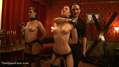 Photo number 3 from Service Day shot for The Upper Floor on Kink.com. Featuring Lilla Katt, Nicki Blue and Sophie Monroe in hardcore BDSM & Fetish porn.