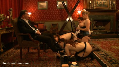 Photo number 13 from Service Day: Boots shot for The Upper Floor on Kink.com. Featuring Nerine Mechanique, Iona Grace and Lilla Katt in hardcore BDSM & Fetish porn.