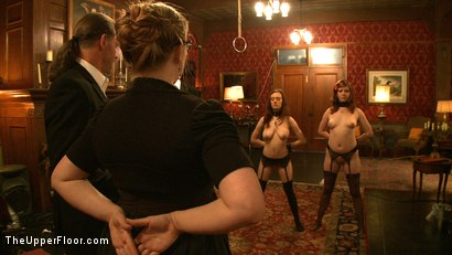 Photo number 14 from Service Day: Boots shot for The Upper Floor on Kink.com. Featuring Nerine Mechanique, Iona Grace and Lilla Katt in hardcore BDSM & Fetish porn.