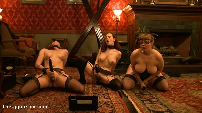 Photo number 7 from Service Day: Boots shot for The Upper Floor on Kink.com. Featuring Nerine Mechanique, Iona Grace and Lilla Katt in hardcore BDSM & Fetish porn.