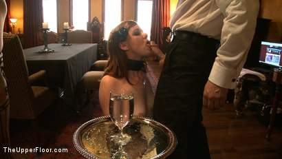 Photo number 5 from Service Day: Table Settings shot for The Upper Floor on Kink.com. Featuring Maestro, Iona Grace, Sparky Sin Claire, Lilla Katt, Nicki Blue, Maestro Stefanos and Sophie Monroe in hardcore BDSM & Fetish porn.