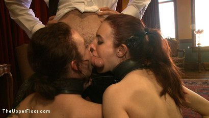 Photo number 15 from Service Day: Table Settings shot for The Upper Floor on Kink.com. Featuring Maestro, Iona Grace, Sparky Sin Claire, Lilla Katt, Nicki Blue, Maestro Stefanos and Sophie Monroe in hardcore BDSM & Fetish porn.