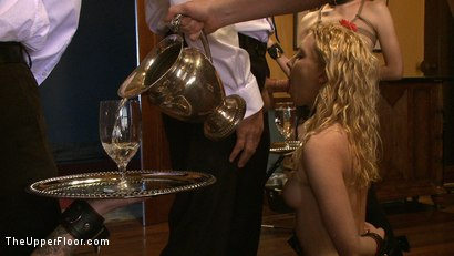 Photo number 6 from Service Day: Table Settings shot for The Upper Floor on Kink.com. Featuring Maestro, Iona Grace, Sparky Sin Claire, Lilla Katt, Nicki Blue, Maestro Stefanos and Sophie Monroe in hardcore BDSM & Fetish porn.