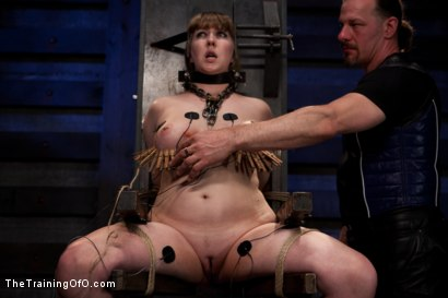 Photo number 15 from Testing Nerine Mechanique shot for The Training Of O on Kink.com. Featuring Nerine Mechanique and Maestro Stefanos in hardcore BDSM & Fetish porn.