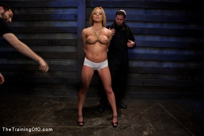 Photo number 15 from Mia Lelani<br>Exotic Porn Slut is Tortured and Fucked shot for The Training Of O on Kink.com. Featuring Mia Lelani and Maestro in hardcore BDSM & Fetish porn.