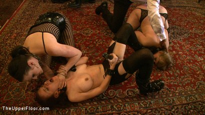 Photo number 14 from Service Day shot for The Upper Floor on Kink.com. Featuring Nerine Mechanique, Iona Grace, Sophie Monroe and Maestro Stefanos in hardcore BDSM & Fetish porn.