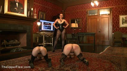 Photo number 1 from Service Day shot for The Upper Floor on Kink.com. Featuring Nerine Mechanique, Iona Grace, Sophie Monroe and Maestro Stefanos in hardcore BDSM & Fetish porn.