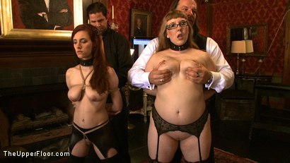 Photo number 6 from Service Day shot for The Upper Floor on Kink.com. Featuring Nerine Mechanique, Iona Grace, Sophie Monroe and Maestro Stefanos in hardcore BDSM & Fetish porn.