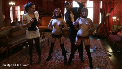 Photo number 16 from Service Day: Book Ends shot for The Upper Floor on Kink.com. Featuring Iona Grace, Sparky Sin Claire and Sophie Monroe in hardcore BDSM & Fetish porn.