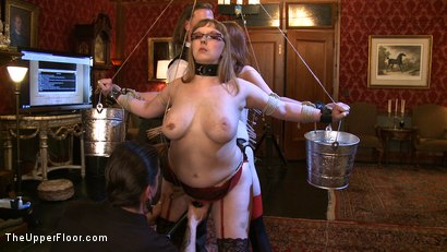 Photo number 18 from Service Day: Fidgeting shot for The Upper Floor on Kink.com. Featuring Lilla Katt and Nerine Mechanique in hardcore BDSM & Fetish porn.
