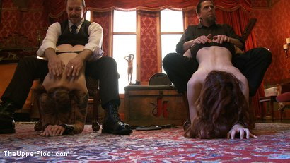 Photo number 13 from Service Day shot for The Upper Floor on Kink.com. Featuring Iona Grace and Sparky Sin Claire in hardcore BDSM & Fetish porn.