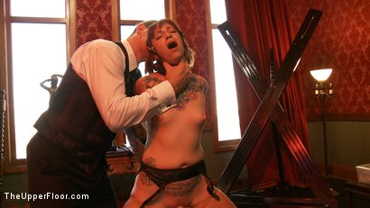 Photo number 15 from Service Day shot for The Upper Floor on Kink.com. Featuring Iona Grace and Sparky Sin Claire in hardcore BDSM & Fetish porn.
