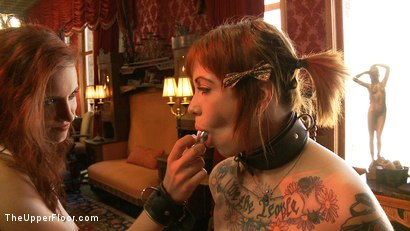 Photo number 6 from Service Day shot for The Upper Floor on Kink.com. Featuring Iona Grace and Sparky Sin Claire in hardcore BDSM & Fetish porn.