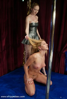 Photo number 5 from Jenni Lee and Chanta-Rose shot for Whipped Ass on Kink.com. Featuring Jenni Lee and Chanta-Rose in hardcore BDSM & Fetish porn.