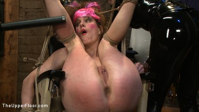 Photo number 20 from The Destruction of Sister shot for The Upper Floor on Kink.com. Featuring Lilac Wine and Sophie Monroe in hardcore BDSM & Fetish porn.