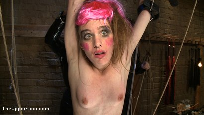 Photo number 10 from The Destruction of Sister shot for The Upper Floor on Kink.com. Featuring Lilac Wine and Sophie Monroe in hardcore BDSM & Fetish porn.