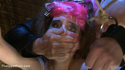 Photo number 13 from The Destruction of Sister shot for The Upper Floor on Kink.com. Featuring Lilac Wine and Sophie Monroe in hardcore BDSM & Fetish porn.