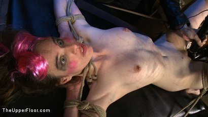 Photo number 3 from The Destruction of Sister shot for The Upper Floor on Kink.com. Featuring Lilac Wine and Sophie Monroe in hardcore BDSM & Fetish porn.