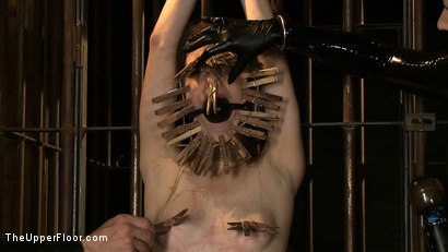 Photo number 21 from The Destruction of Sister shot for The Upper Floor on Kink.com. Featuring Lilac Wine and Sophie Monroe in hardcore BDSM & Fetish porn.