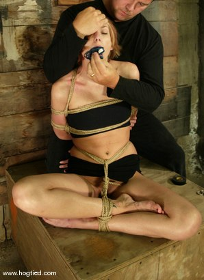 Photo number 2 from Katja shot for Hogtied on Kink.com. Featuring Katja in hardcore BDSM & Fetish porn.