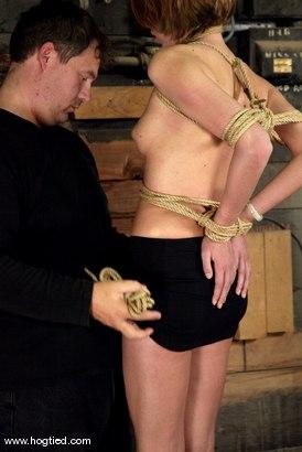 Photo number 4 from Katja shot for Hogtied on Kink.com. Featuring Katja in hardcore BDSM & Fetish porn.