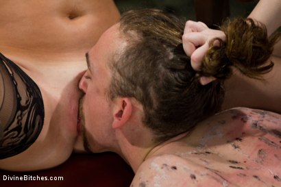 Photo number 6 from New Slave Meat Competition LIVE! shot for Divine Bitches on Kink.com. Featuring Aiden Starr, Skyeboy, Ashley Edmonds, Dean Morrato and Chip Tanner in hardcore BDSM & Fetish porn.