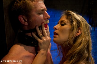 Photo number 10 from Pleasure Slave In The Making: Episode 1 shot for Divine Bitches on Kink.com. Featuring Felony and Drake Temple in hardcore BDSM & Fetish porn.