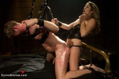 Photo number 4 from Pleasure Slave In The Making: Episode 1 shot for Divine Bitches on Kink.com. Featuring Felony and Drake Temple in hardcore BDSM & Fetish porn.