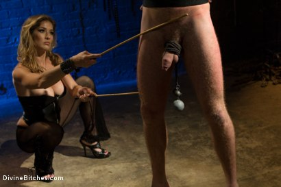 Photo number 2 from Pleasure Slave In The Making: Episode 1 shot for Divine Bitches on Kink.com. Featuring Felony and Drake Temple in hardcore BDSM & Fetish porn.