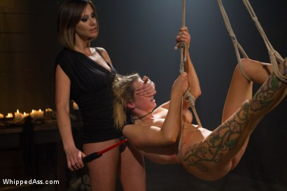 Photo number 2 from Where In The World Is Rain Degrey? shot for Whipped Ass on Kink.com. Featuring Maitresse Madeline Marlowe  and Rain DeGrey in hardcore BDSM & Fetish porn.