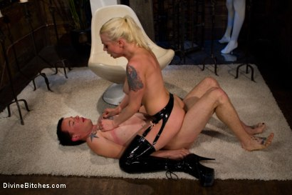 "Photo number 14 from Breaking The Boy: Episode 2 ""Pleasing Lorelei Lee"" shot for Divine Bitches on Kink.com. Featuring Jessie Sparkles and Lorelei Lee in hardcore BDSM & Fetish porn."