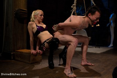 "Photo number 4 from Breaking The Boy: Episode 2 ""Pleasing Lorelei Lee"" shot for Divine Bitches on Kink.com. Featuring Jessie Sparkles and Lorelei Lee in hardcore BDSM & Fetish porn."