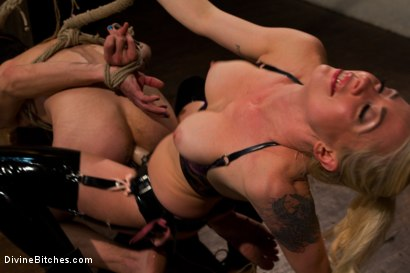 "Photo number 5 from Breaking The Boy: Episode 2 ""Pleasing Lorelei Lee"" shot for Divine Bitches on Kink.com. Featuring Jessie Sparkles and Lorelei Lee in hardcore BDSM & Fetish porn."
