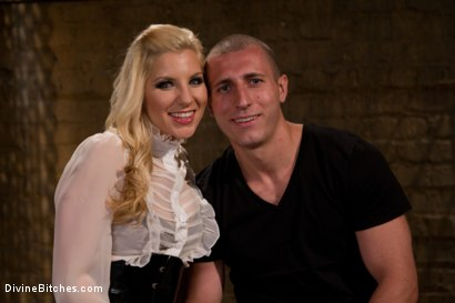 Photo number 1 from For The Love Of Hose: Pantyhose Fetish shot for Divine Bitches on Kink.com. Featuring Roman Rivers and Ashley Fires in hardcore BDSM & Fetish porn.