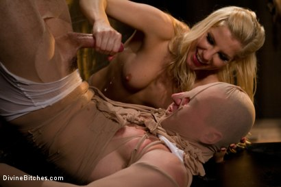 Photo number 8 from For The Love Of Hose: Pantyhose Fetish shot for Divine Bitches on Kink.com. Featuring Roman Rivers and Ashley Fires in hardcore BDSM & Fetish porn.