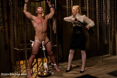 Photo number 2 from For The Love Of Hose: Pantyhose Fetish shot for Divine Bitches on Kink.com. Featuring Roman Rivers and Ashley Fires in hardcore BDSM & Fetish porn.