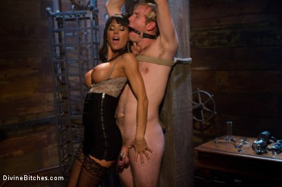 Photo number 11 from A Self-Serving Pleasure shot for Divine Bitches on Kink.com. Featuring Gia DiMarco and Ned Mayhem in hardcore BDSM & Fetish porn.