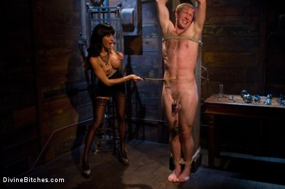 Photo number 3 from A Self-Serving Pleasure shot for Divine Bitches on Kink.com. Featuring Gia DiMarco and Ned Mayhem in hardcore BDSM & Fetish porn.