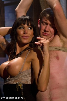 Photo number 1 from A Self-Serving Pleasure shot for Divine Bitches on Kink.com. Featuring Gia DiMarco and Ned Mayhem in hardcore BDSM & Fetish porn.