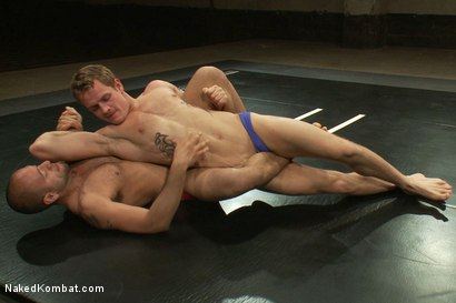 Photo number 2 from Leo Forte vs Trent Diesel - The Bondage Match shot for Naked Kombat on Kink.com. Featuring Trent Diesel and Leo Forte in hardcore BDSM & Fetish porn.