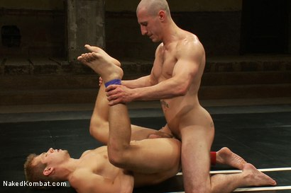 Photo number 14 from Roman Rivers vs Mike Rivers shot for Naked Kombat on Kink.com. Featuring Roman Rivers and Mike Rivers in hardcore BDSM & Fetish porn.