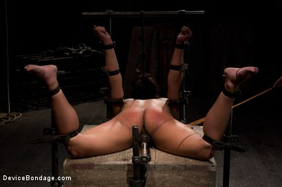 Photo number 6 from Amateur girl seeks hard bondage shot for Device Bondage on Kink.com. Featuring Eden Coxxx in hardcore BDSM & Fetish porn.
