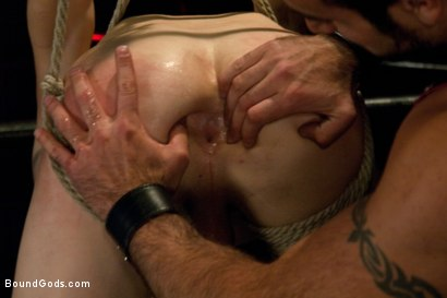 Photo number 6 from Worshiping Spencer Reed shot for Bound Gods on Kink.com. Featuring Spencer Reed and Noah Brooks in hardcore BDSM & Fetish porn.